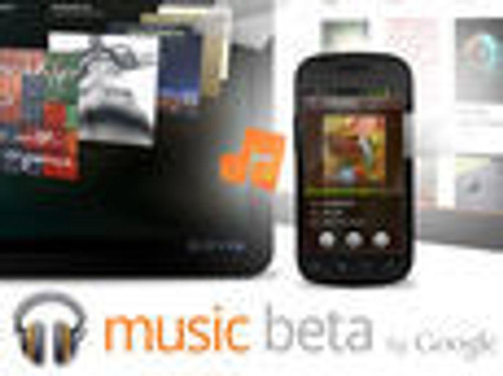 Musikktjeneste og filmleie fra Google