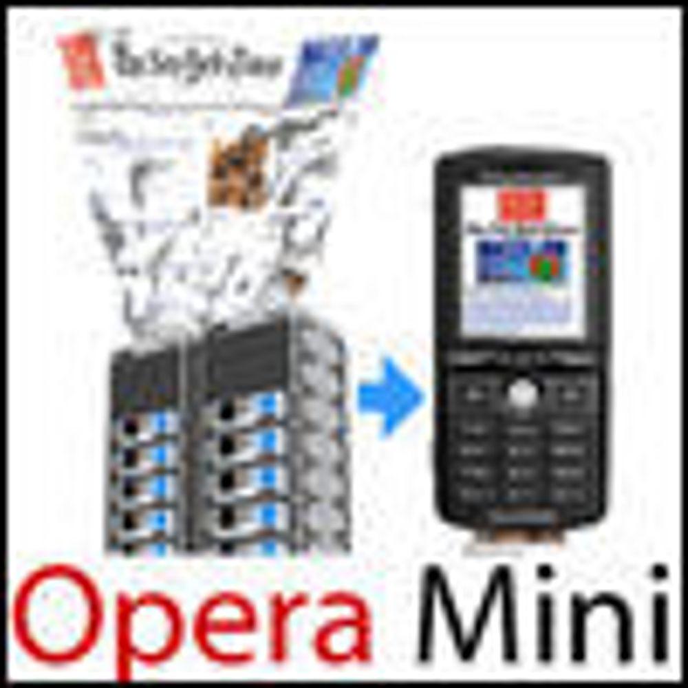 Synkronisering av lenker i ny Opera Mini