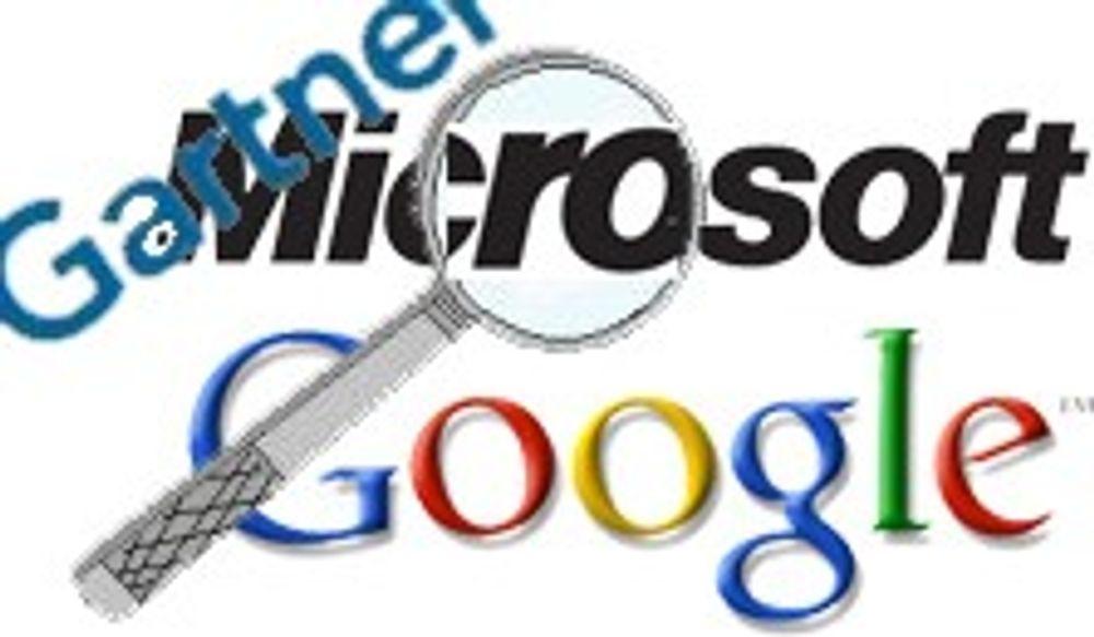 Det er Microsoft som angriper Google