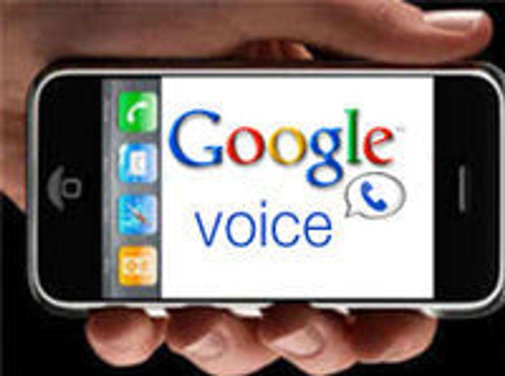 Apple sier ja til Google Voice