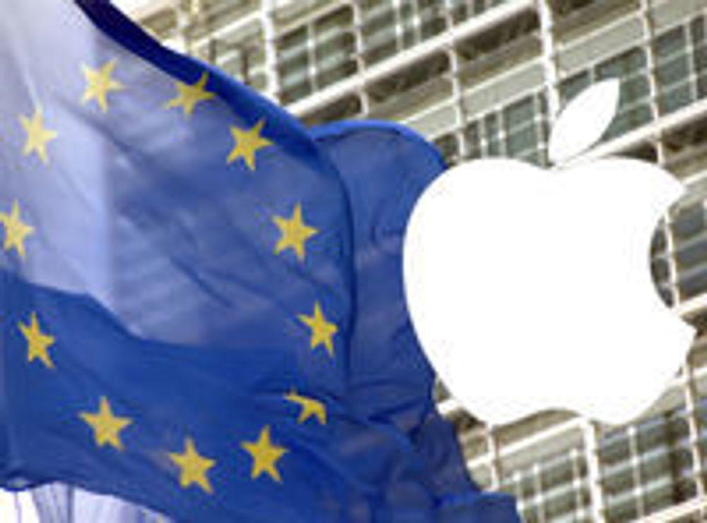 Dropper antitrust mot Apple