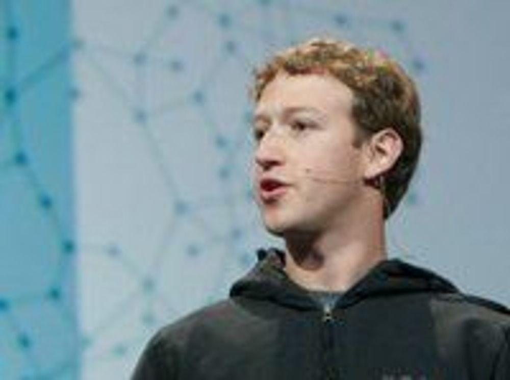 Zuckerberg gir bort 100 millioner dollar