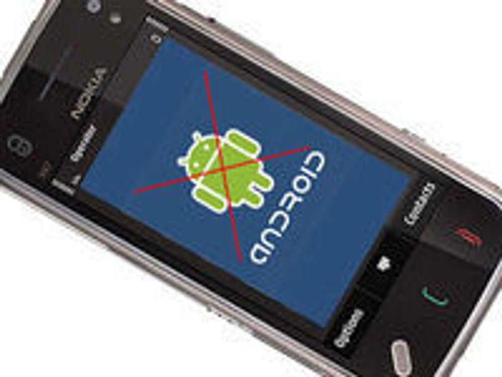 – Å satse på Android er som å pisse i buksa
