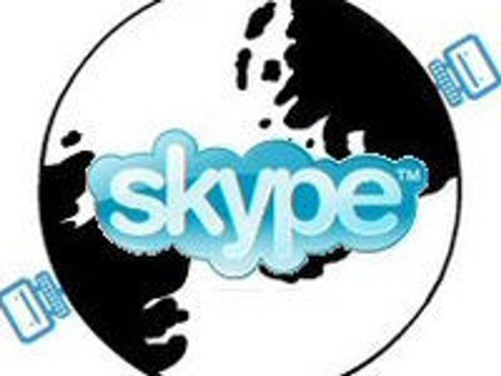 Skype snart størst i verden