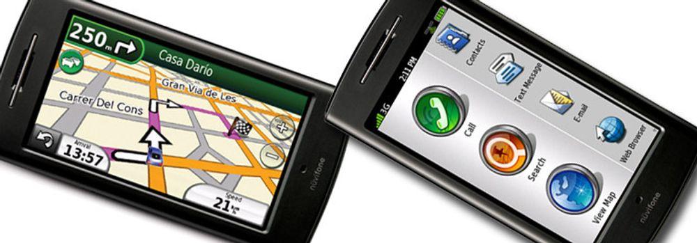 Modellen G60 har både GPS og berøringsskjerm. Den første mobiltelefonen fra Garmin-Asus ser imidlertid ikke ut til å leveres med Android som operativsystem. (Foto: selskapene)