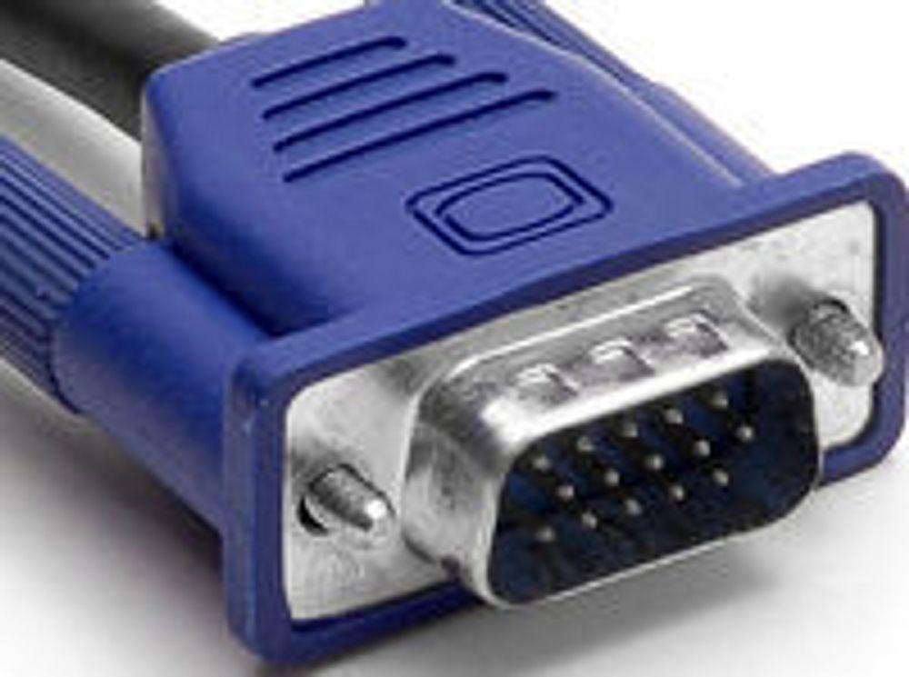 VGA-pluggens svanesang