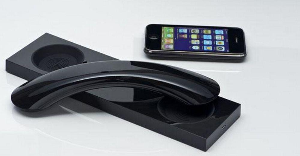 NU MM03 Curve gjenoppretter den ekte ringefølelsen i en stilriktig enhet som via Bluetooth håndterer både mobiltelefon og pc samtidig.