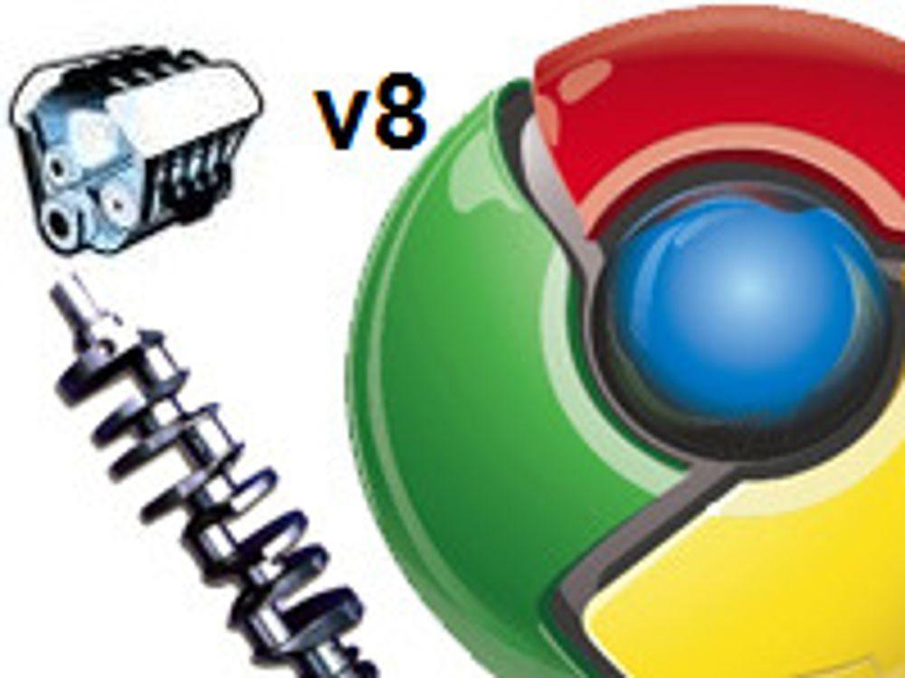 Mye raskere JavaScript-motor i Chrome 10