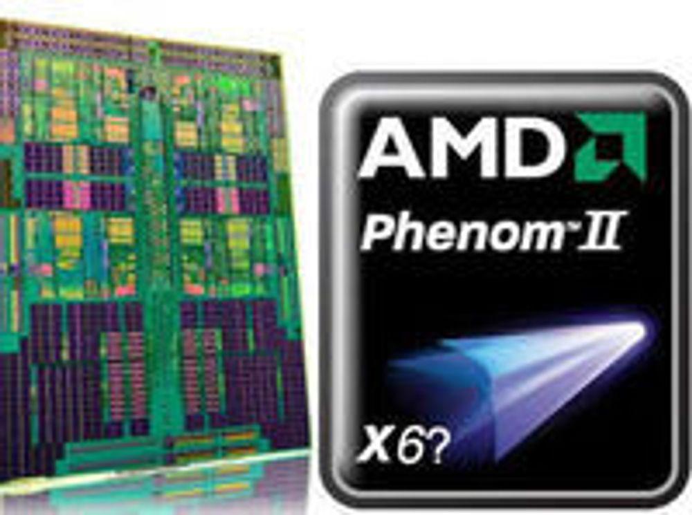 AMD klokker opp sekskjernet prosessor
