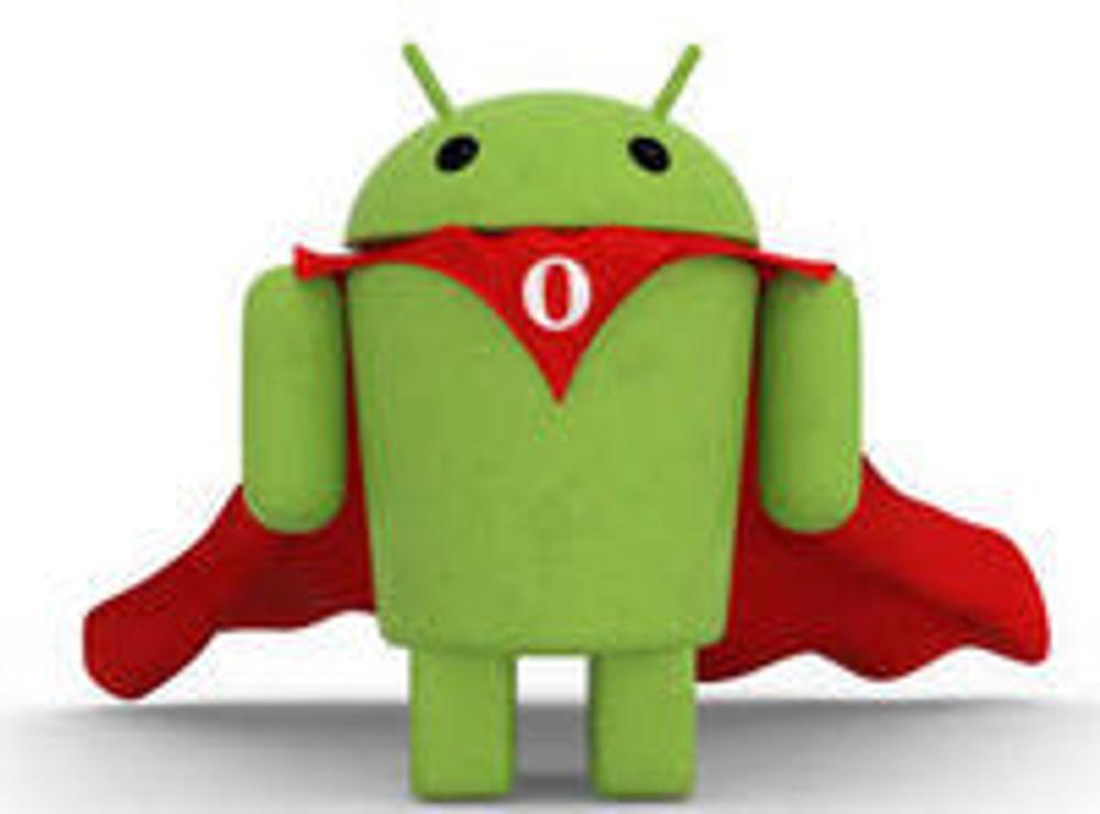 Opera for Android med Flash og video