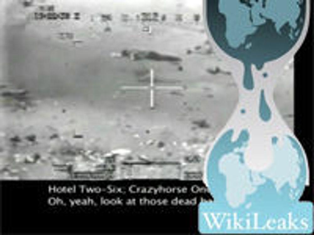 Amazon presset til å fjerne WikiLeaks