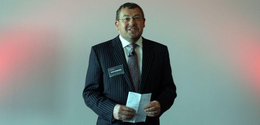 - Våre bærbare er minst dobbelt så holdbare som konkurrentenes, sa Toshiba-sjef Alan Thompson.