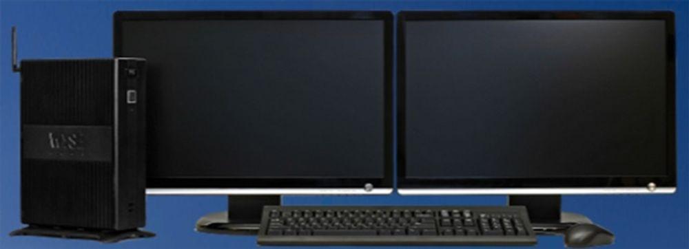 Den nye R50L er Wyses kraftigste tynnklient, og kan blant annet betjene opptil seks skjermer samtidig.