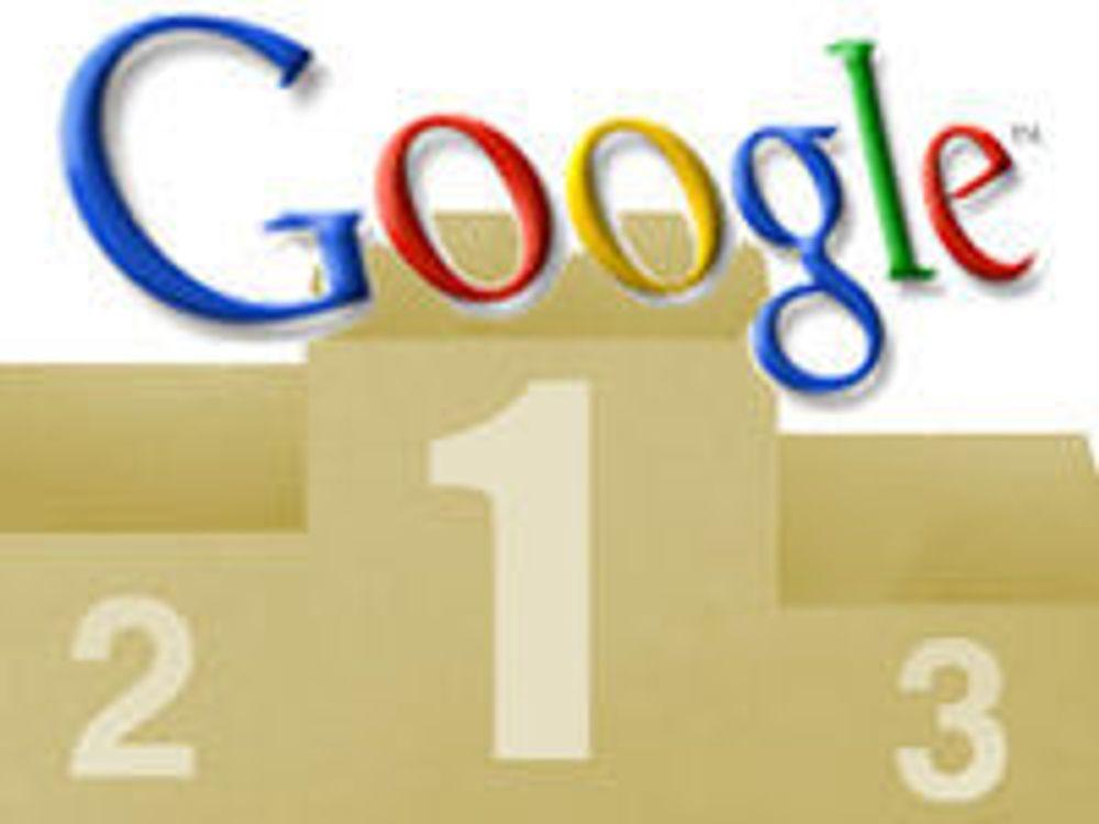 Google øker forspranget