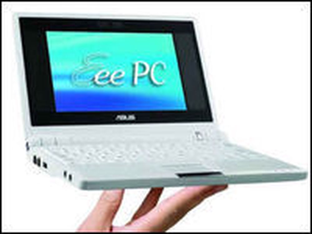 Den første Eee-maskinen fra Asus