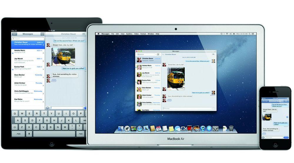Meldingsfunksjonaliteten i iOS 6 og OS X Mountain Lion får langt mer felles enn i tidligere versjoner.