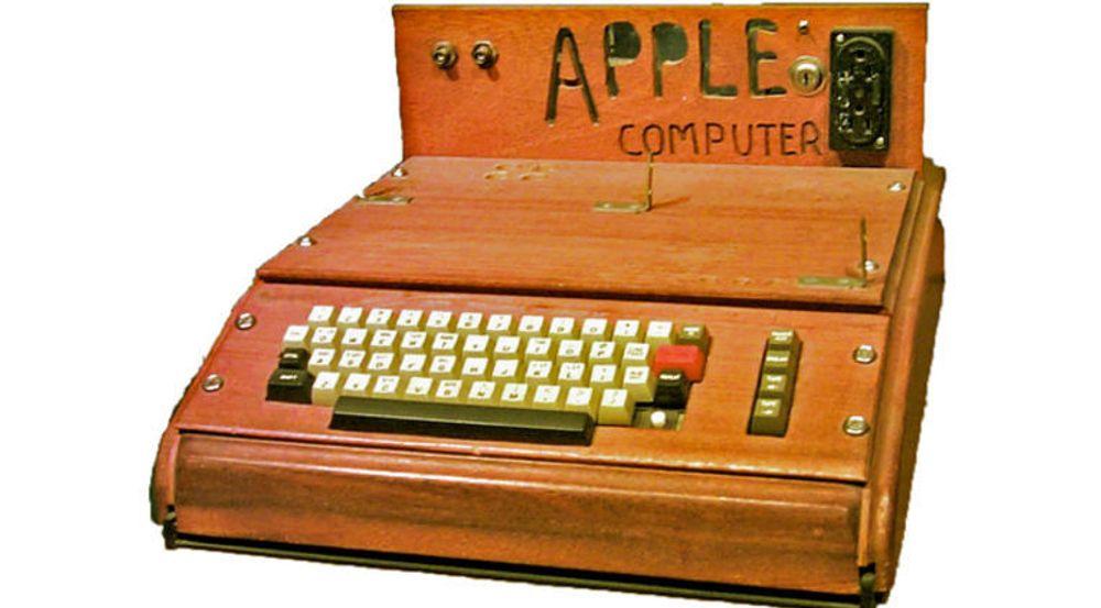 Apples første datamaskin skal på auksjon. Kassettspiller og bruksanvisning medfølger, men ikke skjerm.