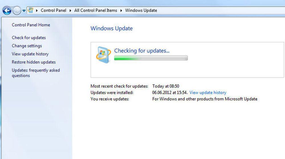 Jevnlig sjekk etter sikkerhetsoppdateringer er essensielt for å stenge IT-angriperne ute.