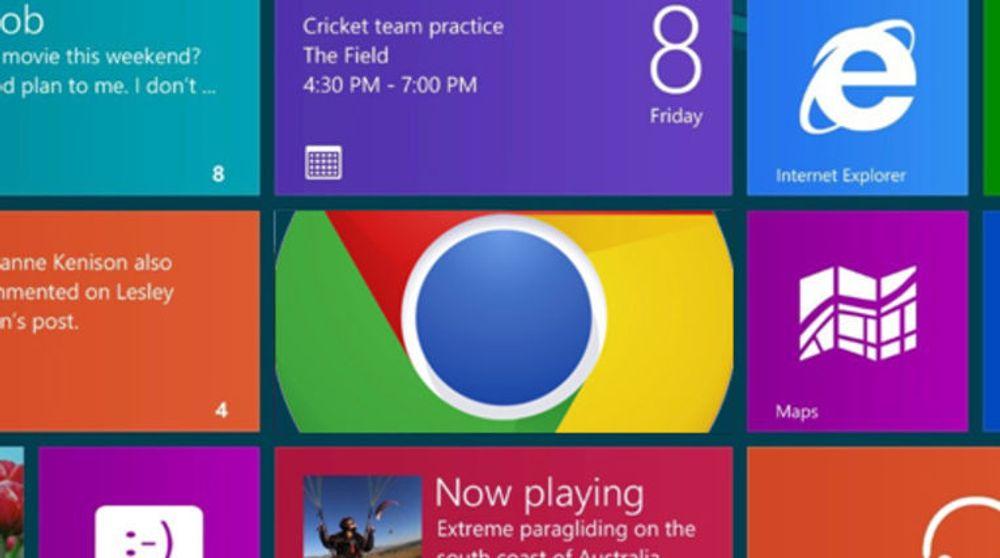 Google Chrome med Metro-støtte kan snart testes i Windows 8.
