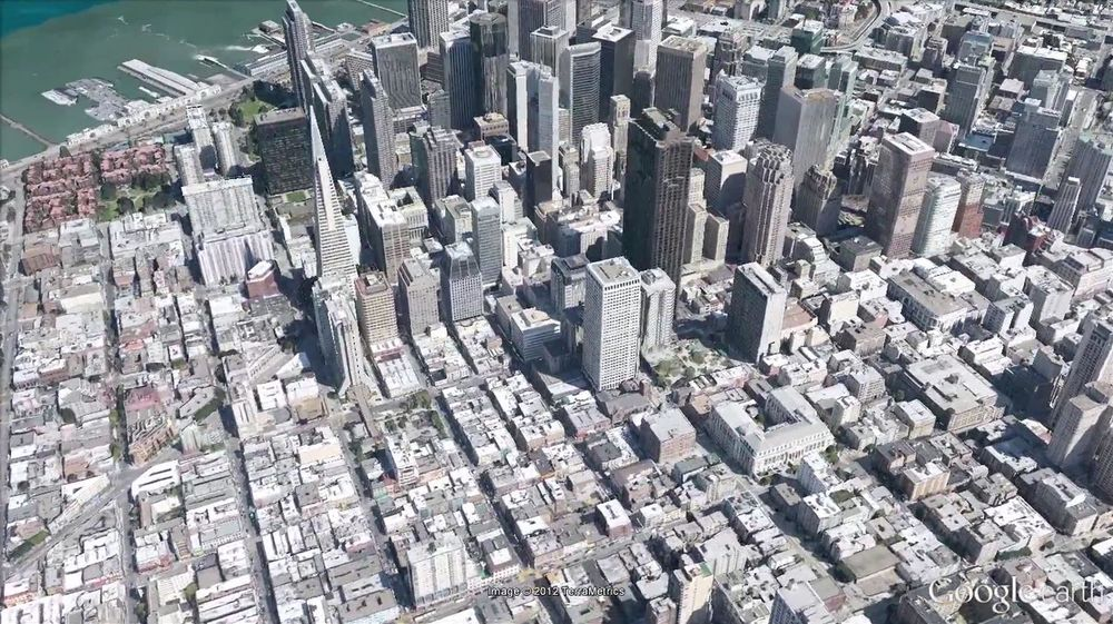 Slik blir 3D-visningen av store byer i Google Earth senere i år.