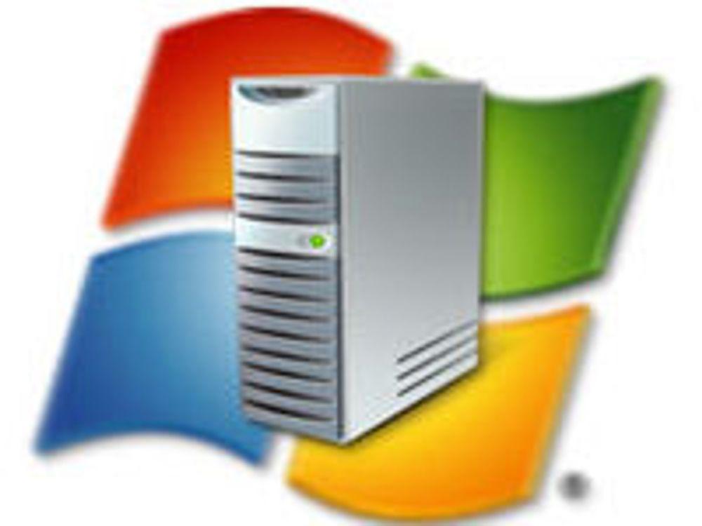 Ny Windows Server for web og det virtuelle