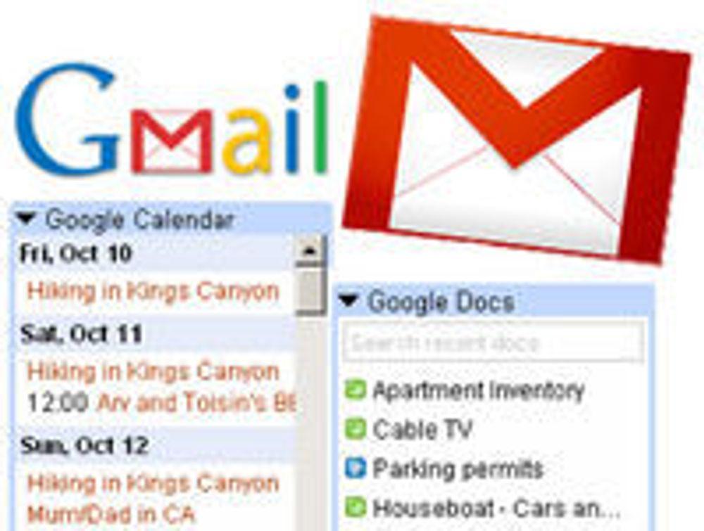 Gmail blir Gadget-portal