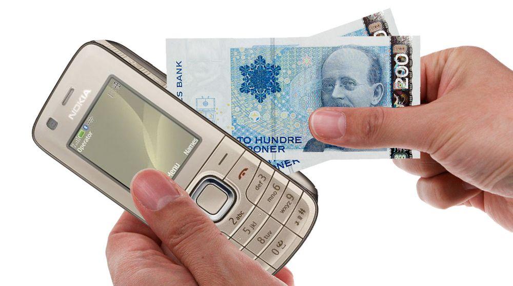 Lager felles mobil lommebok
