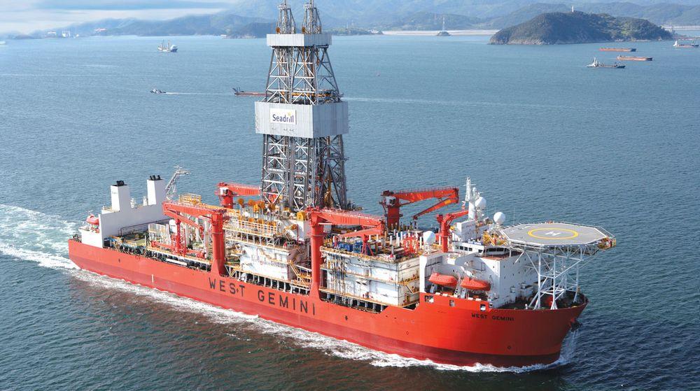 Dypvannsboreskipet West Gemini er en av flere rigger og boreskip som eies og drives av giganten Seadrill. Nå har selskapet erstattet Evry med Capgemini som hoffleverandør av IT-tjenester.