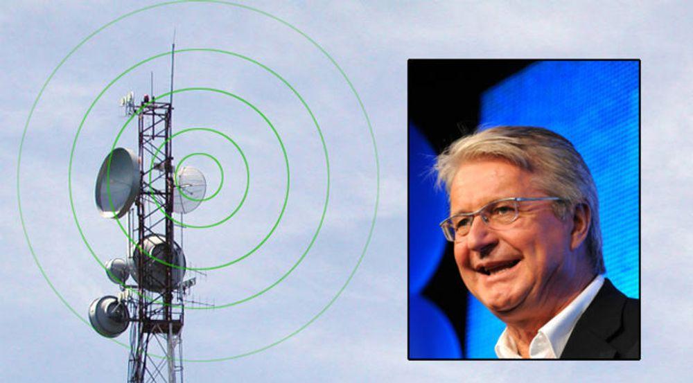 Oslo-ordfører Fabian Stang godtar at Netcom setter opp mobilmaster i bygården der han bor, men vil ha bedre betalt.
