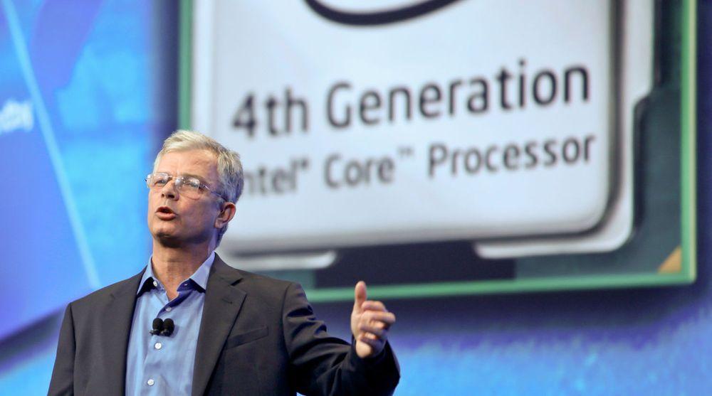David Perlmutter, Intels produktsjef, presenterte i går selskapets neste generasjon av Core-prosessorer under Intel Developer Forum i San Francisco.