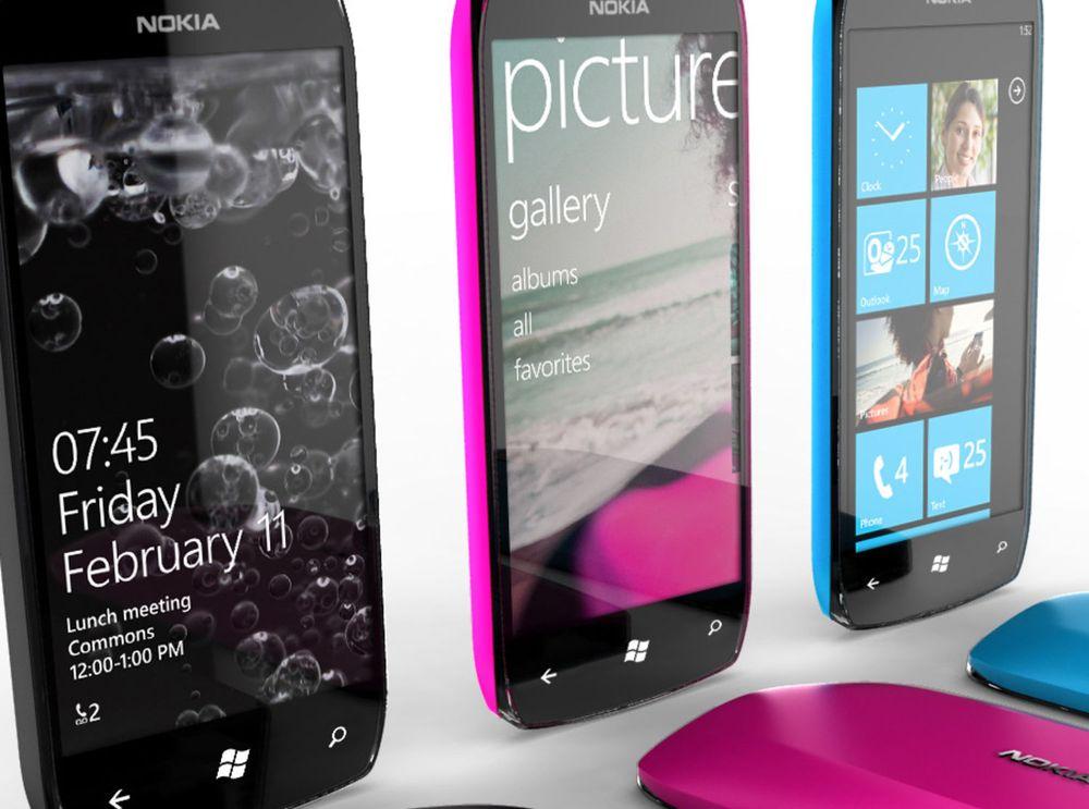 – Tolv WinPhone-mobiler fra Nokia i 2012