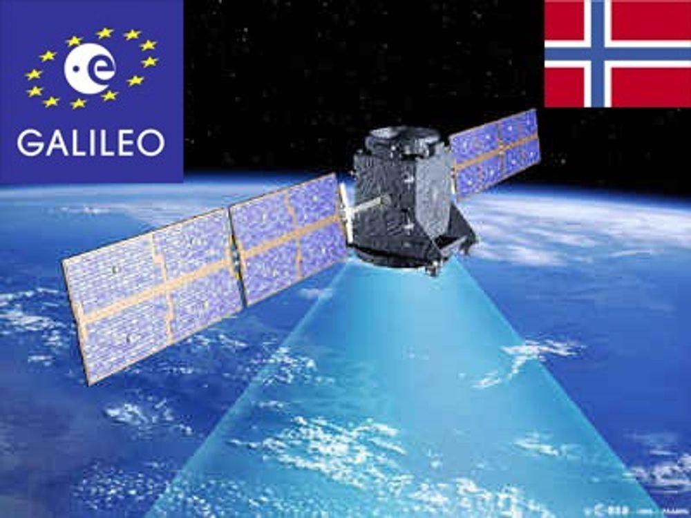 Åpner Galileo-stasjon på Svalbard