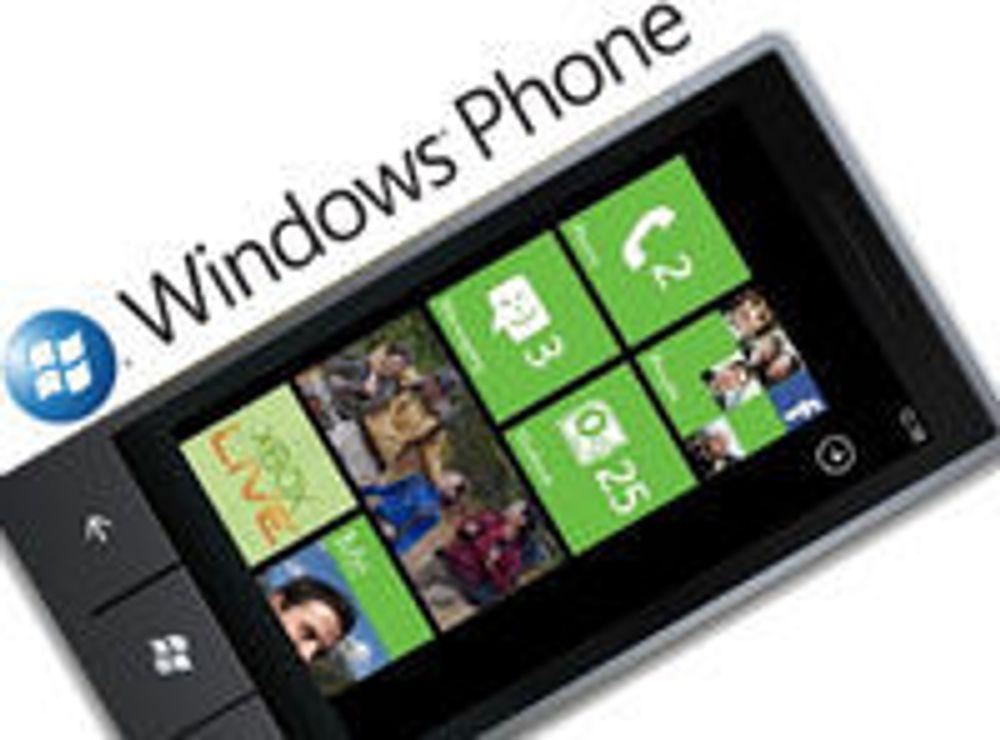 Svært negative tall for Windows Phone 7