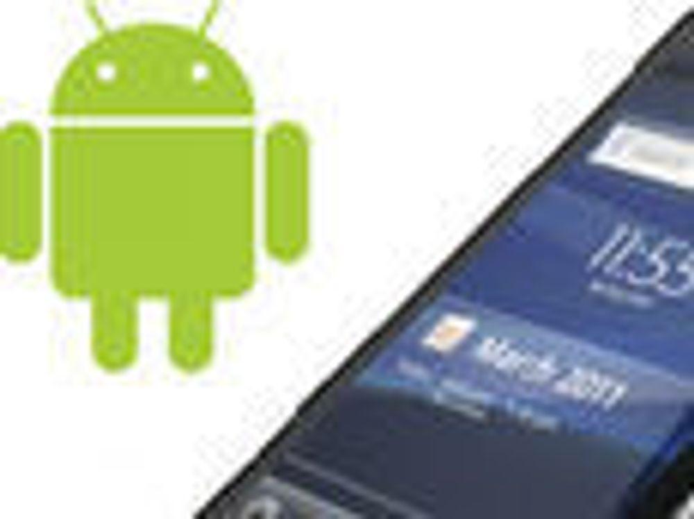 – Tredobling av Android-salget i år