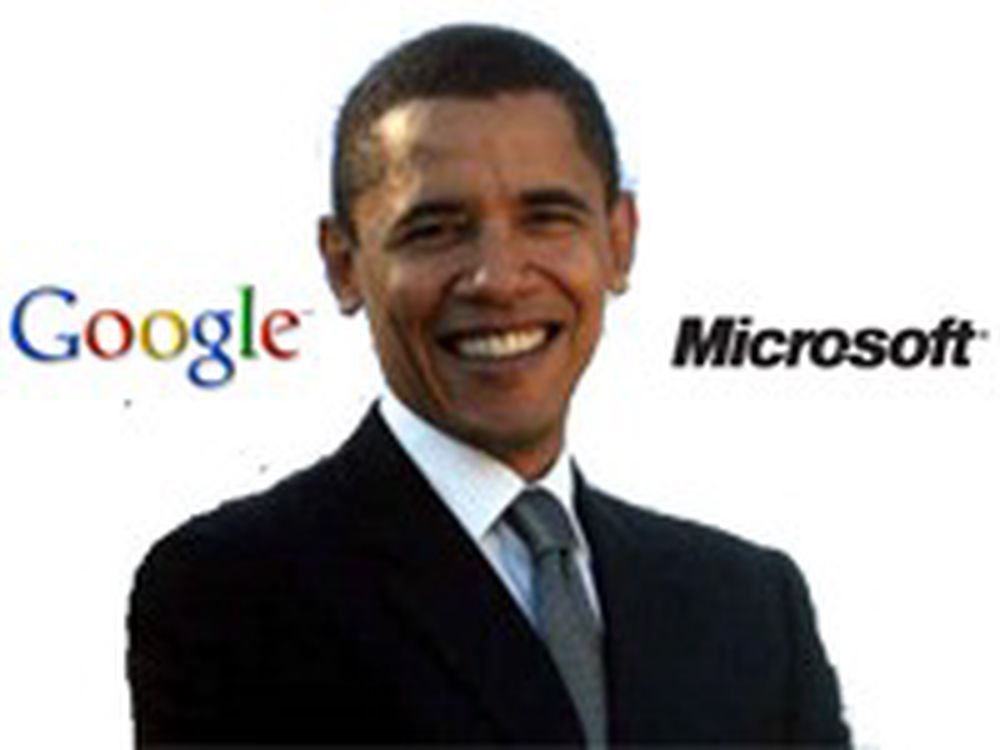 Google og Microsoft med i Obamas teknoråd
