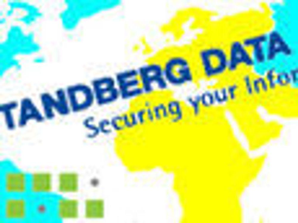 Tandberg Data er konkurs