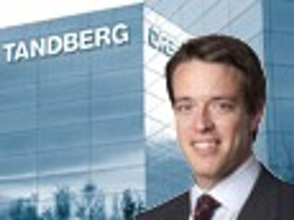 Redusert vekst hos Tandberg
