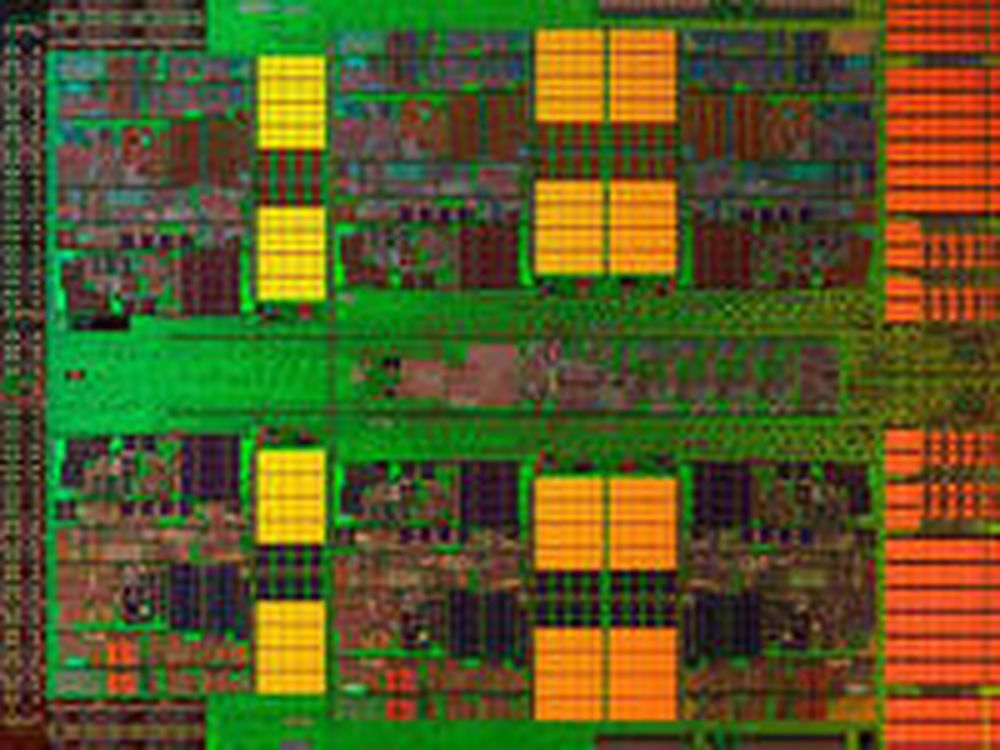 Innmaten i AMDs «Istanbul» med seks kjerner.