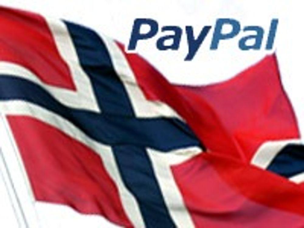 Paypal etablerer seg i Norge