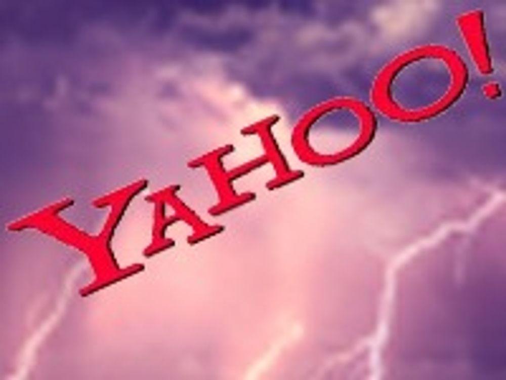 Yahoo sparker fem prosent