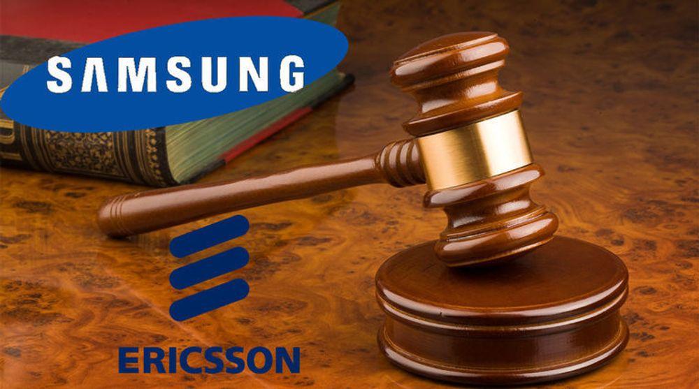 Ericsson og Samsung møtes i retten i USA etter at selskapene ikke har blitt enige om en lisensavtale.