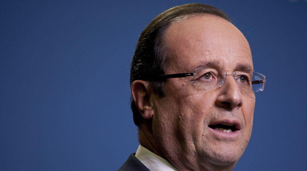 Jakter penger: Frankrike, her anført av president Francois Hollande, vil ha mer av overskuddet til Google, Apple og andre nettselskaper med virksomhet i landet.