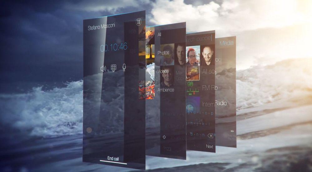 Jolla viste fram del av funksjonaliteten i Sailfish UI, standardbrukergrensesnittet til Sailfish OS. Mer vises i videoene lenger ned i saken.
