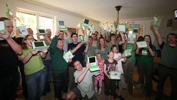 OLPC-brukere er ikke som andre PC-brukere.
