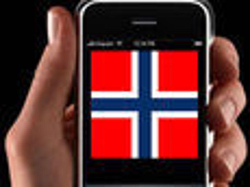 Over 10 000 nordmenn har iPhone