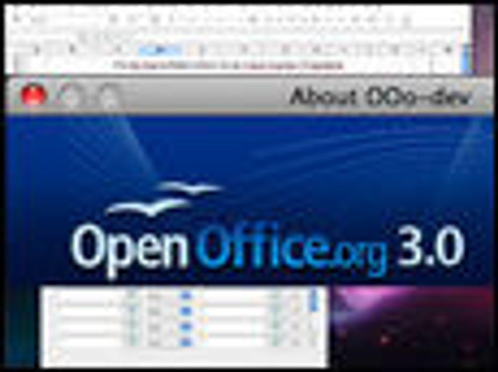 OpenOffice.org 3.0 lagt ut for betatesting