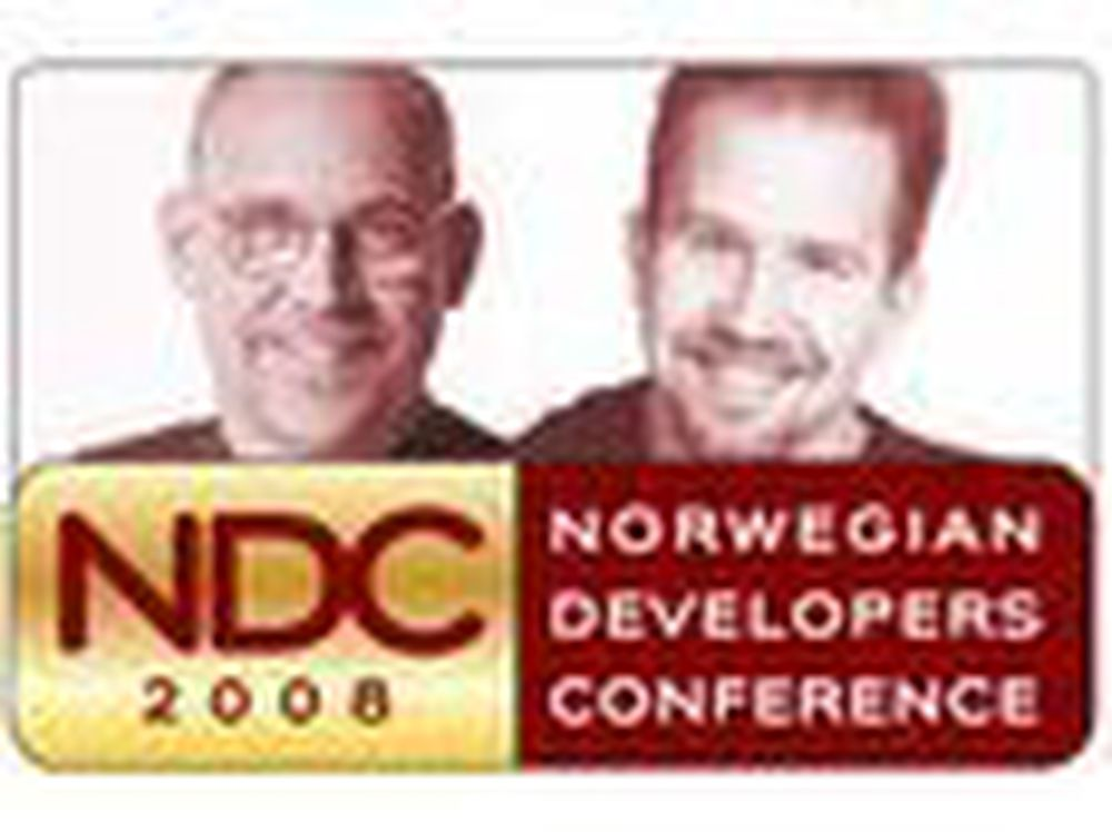 David Chappell og Scott Hanselman til Norge