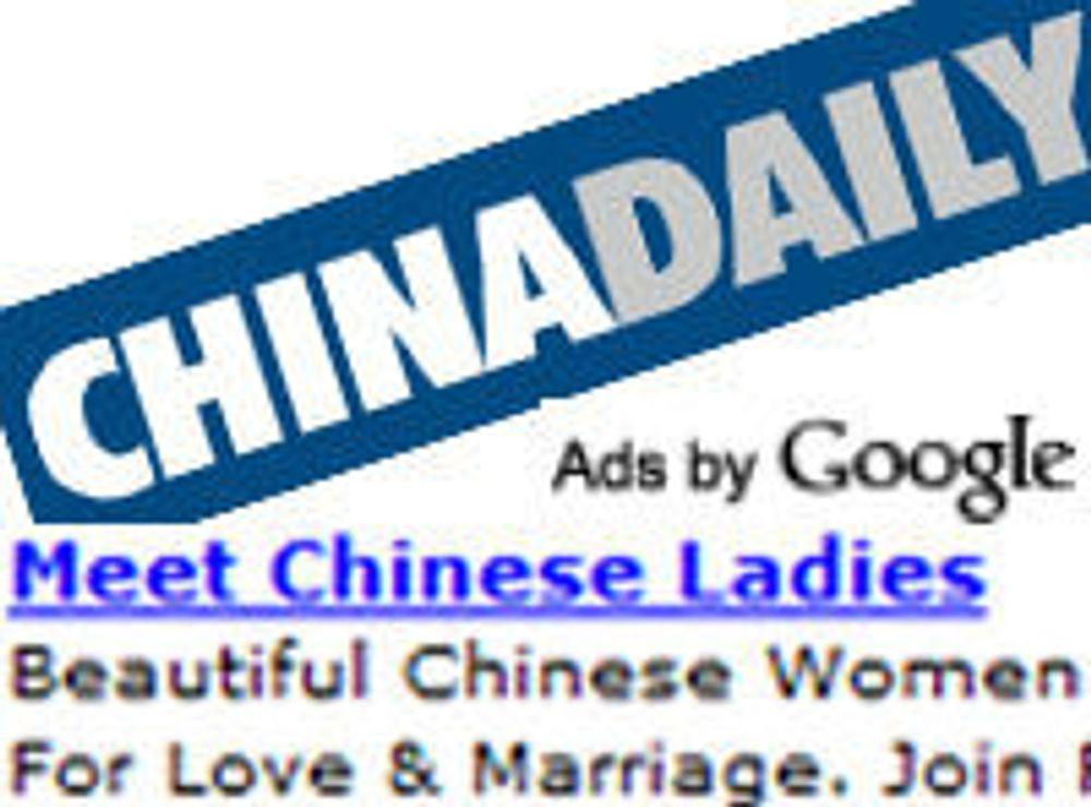 Annonsene kan berge Google i Kina