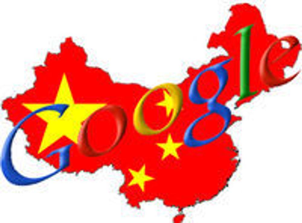 Kina ber Google bli ved sin lest