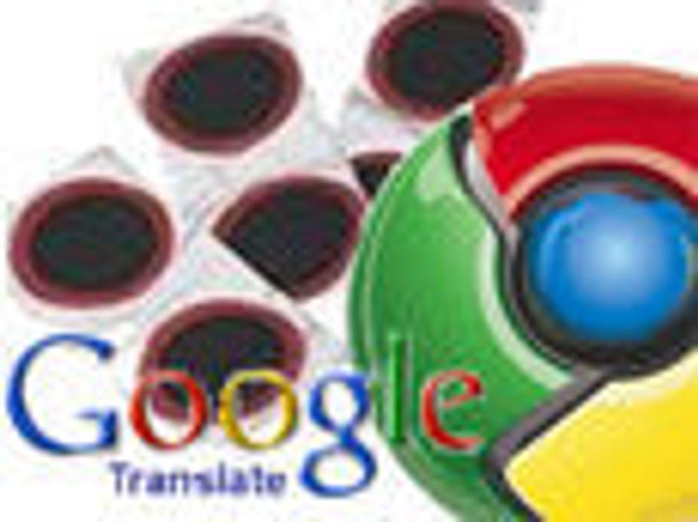 Chrome har blitt språkmektig